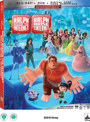 Blu-ray 請你看好戲 《RALPH BREAKS THE INTERNET》