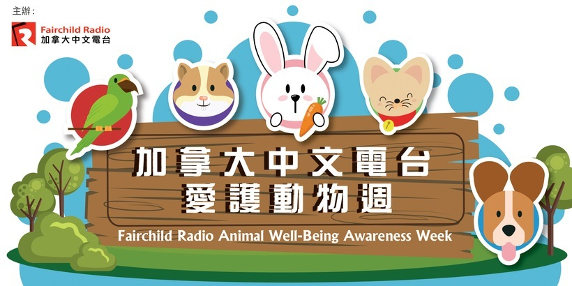 Animal Well-being「加拿大中文電台愛護動物週」