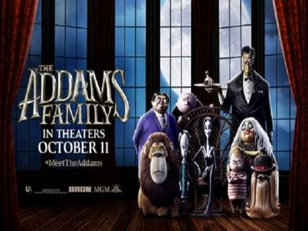 Movie 請你看優先場《THE ADDAMS FAMILY》
